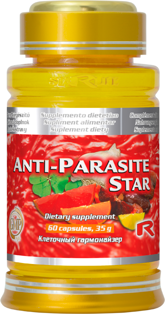 Starlife Anti-parasite Star, 60 cps