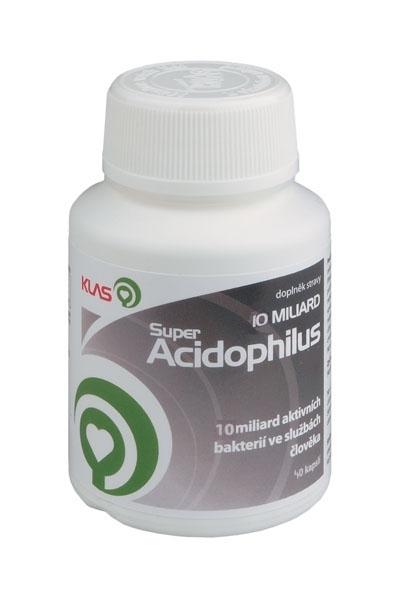 Klas Super Acidophilus KLAS 10 miliard, 40 tbl.