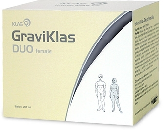 Klas GraviKlas DUO female, 120 tbl.