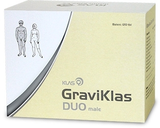 Klas GraviKlas DUO male, 120 tbl.