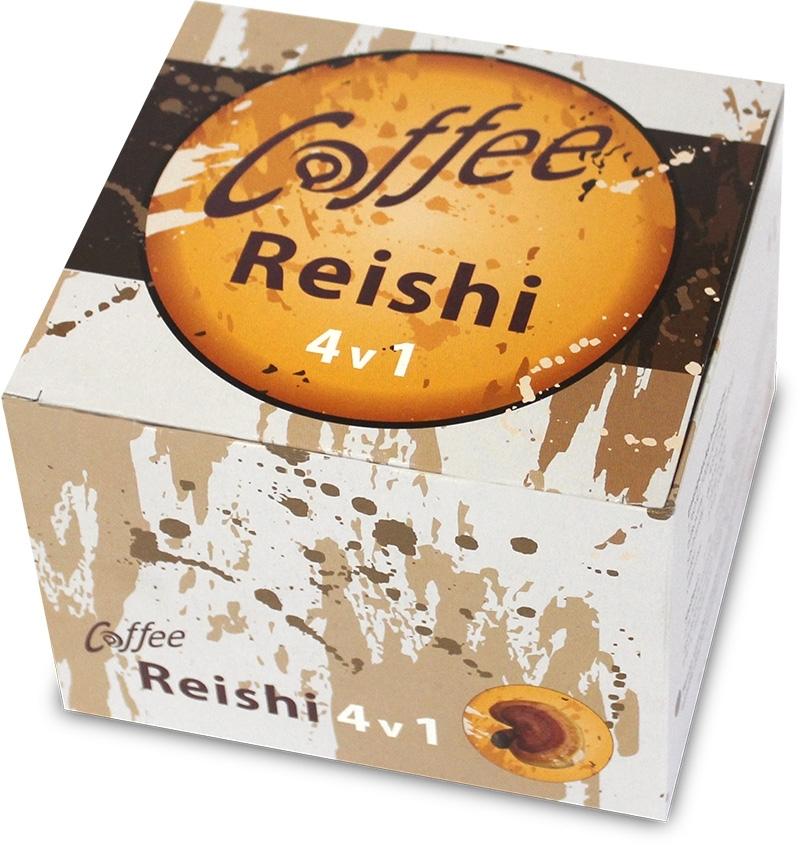Klas Coffee+ Reishi (4v1), 20x15g.