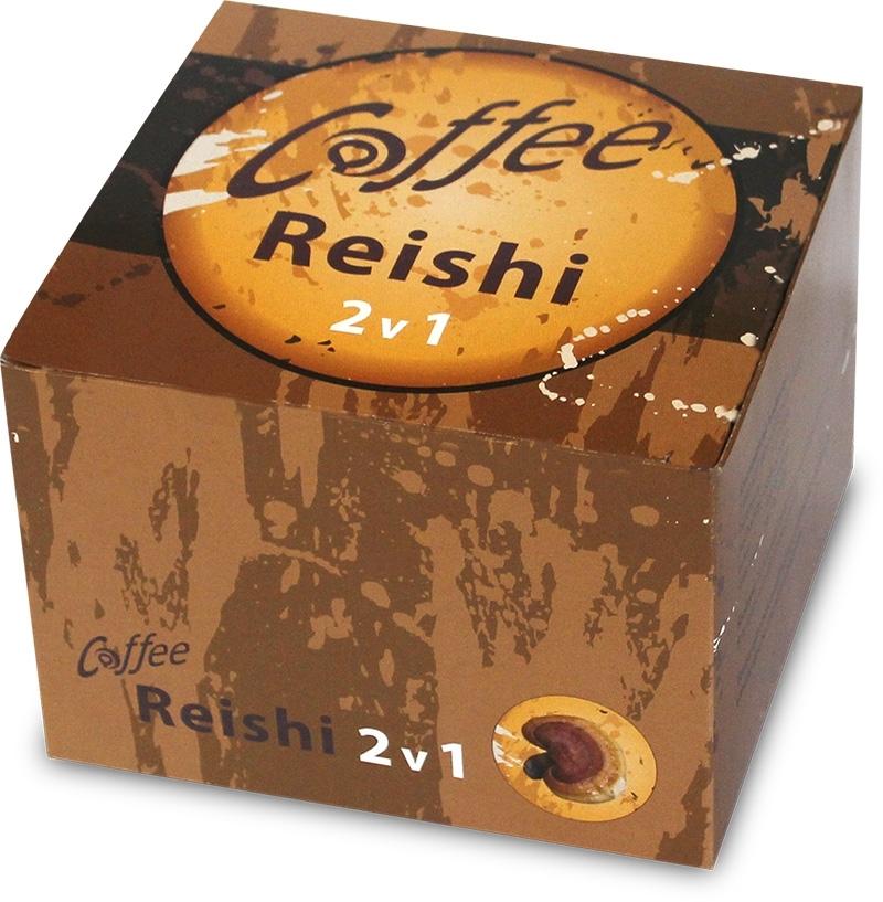 Klas Coffee+ Reishi (2v1), 30x2,5g.