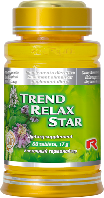 Starlife Trend Relax Star, 60 tbl