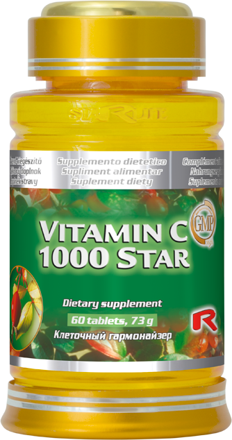 Starlife Vitamin C 1000 Star, 60 tbl