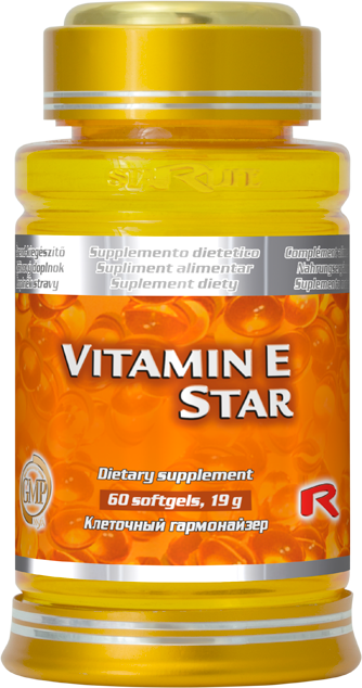 Starlife Vitamin E Star, 60 sfg