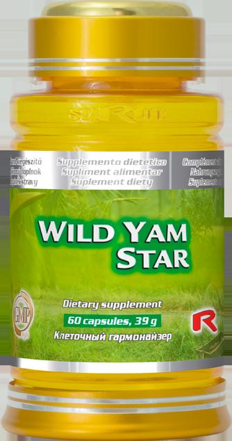 Starlife Wild Yam Star, 60 cps