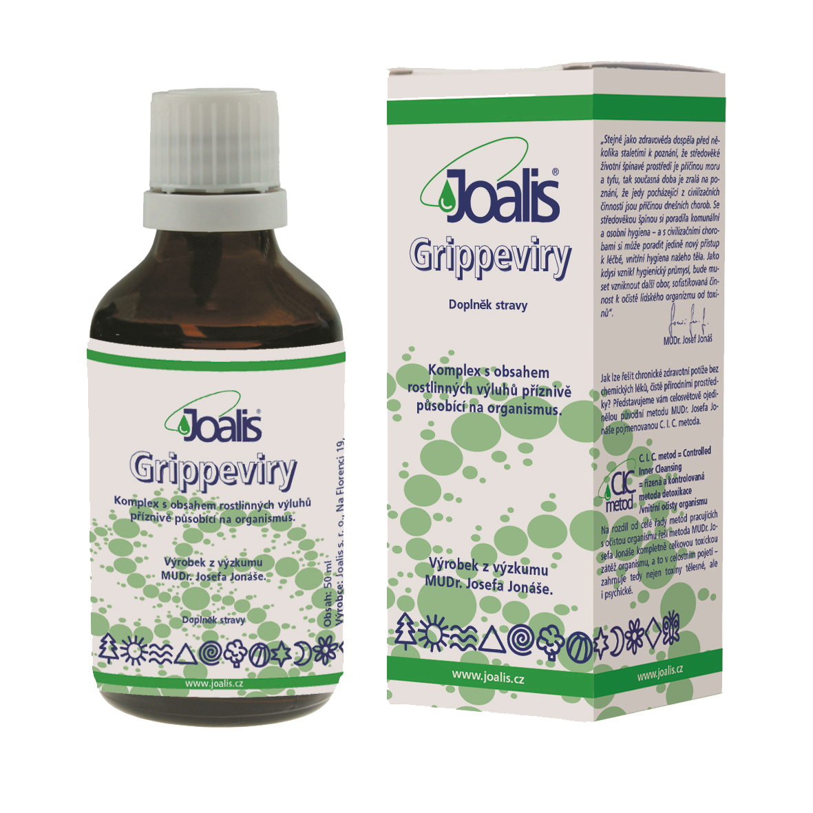 Joalis Gripin (Grippeviry), 50ml