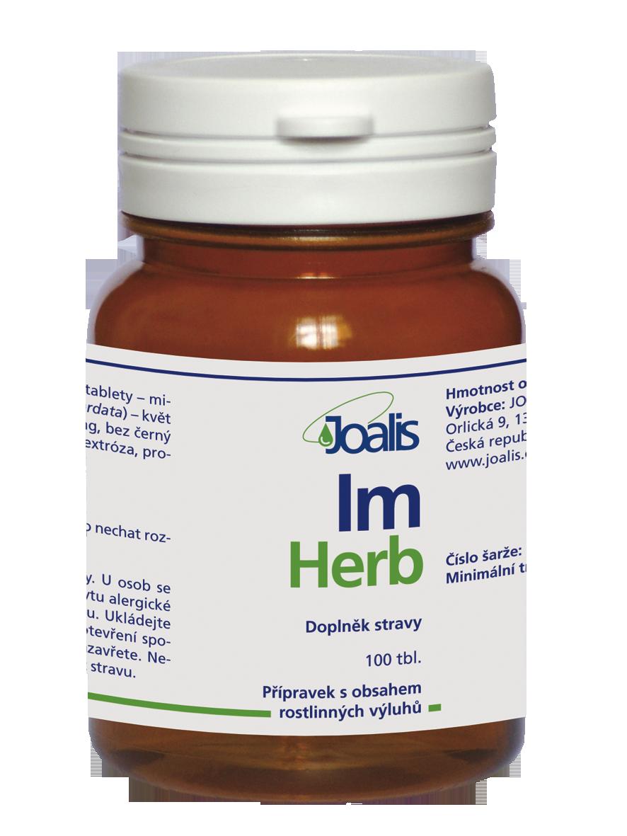Joalis ImHerb (ImunoHelp), 100 tbl.