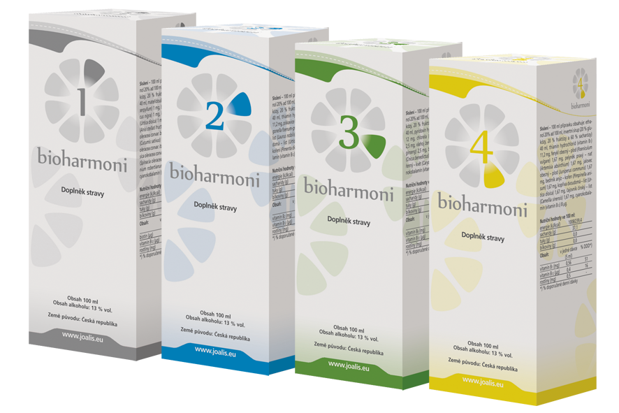 Joalis BIOHARMONI SET I (1-4), 4x100ml