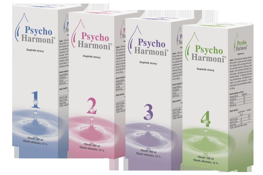 Joalis PsychoHarmoni Set, 4x100ml