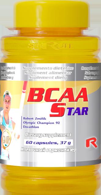 Starlife BCAA Star, 60 cps