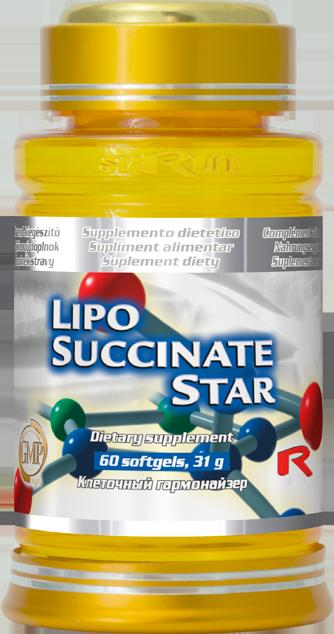 Lipo-Succinate Star, 60 cps