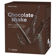 Vision Shake SmartFood Chocolate, 14sáč.