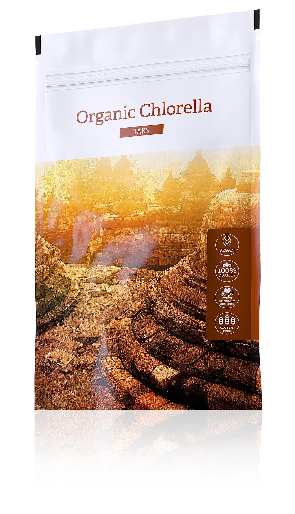 Energy Organic Chlorella Tabs, 200tbl