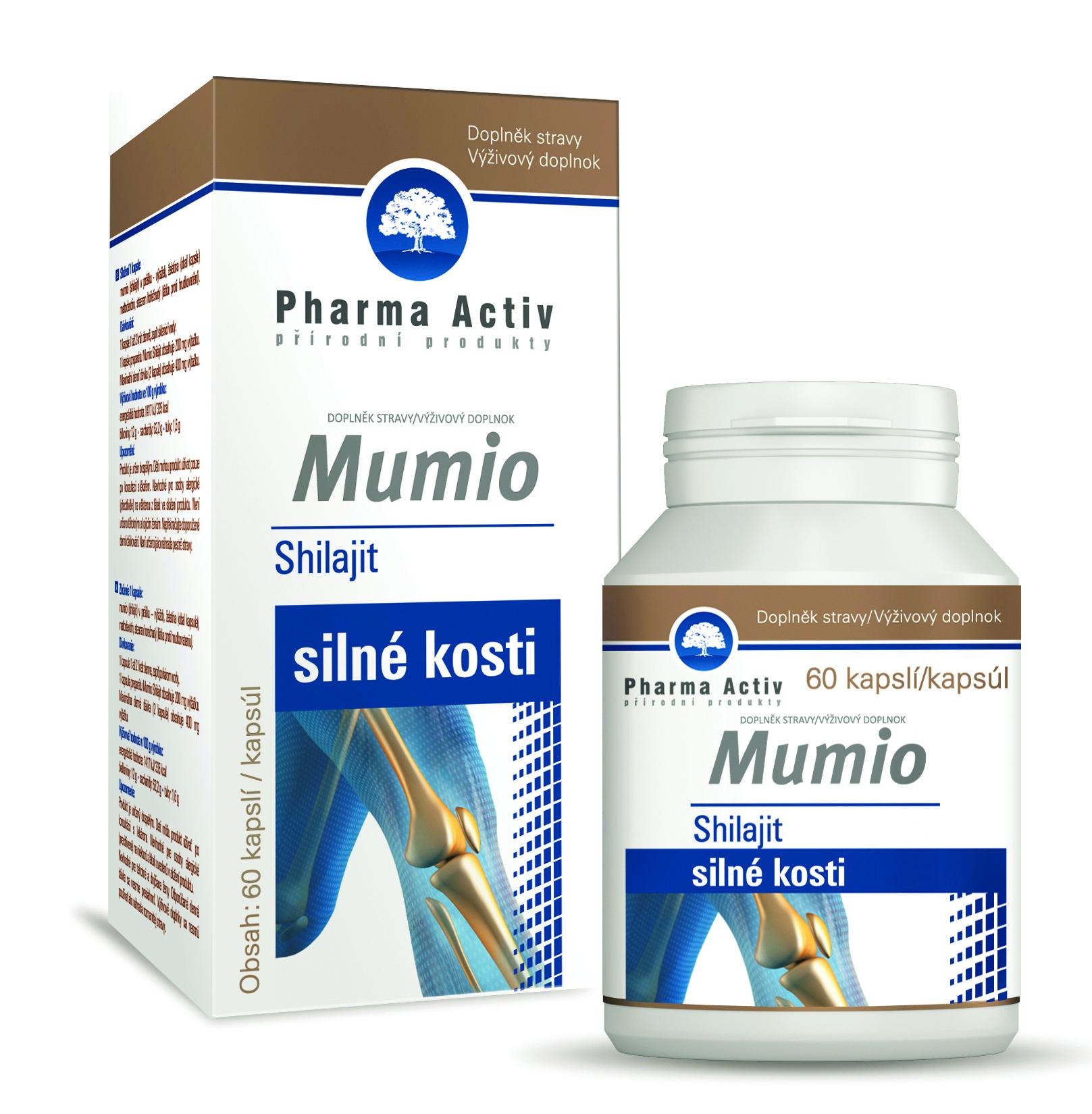 Pharma Activ Mumio, 60 cps.