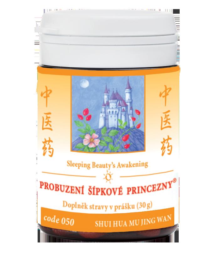 TCM Herbs Probuzení šípkové princezny, 30 g bylinného produktu v prášku