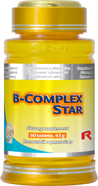 Starlife B-complex Star, 60 tbl