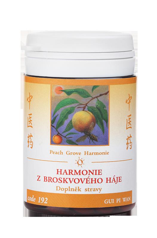 TCM Herbs Harmonie broskvového háje, 100 tbl
