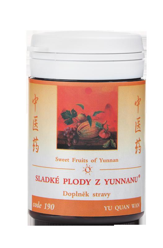 TCM Herbs Sladké plody z Yunnanu, 100 tbl
