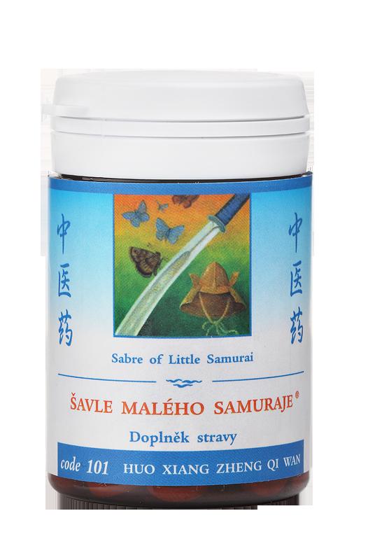 TCM Herbs Šavle malého samuraje, 100 tbl