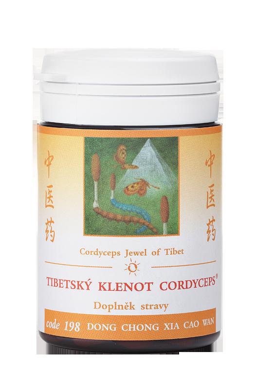 TCM Herbs Tibetský klenot Cordyceps, 30 g práškového extraktu