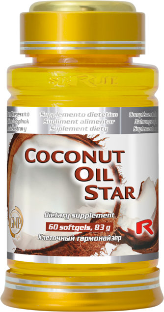 Starlife Coconut Oil Star, 60 sfg