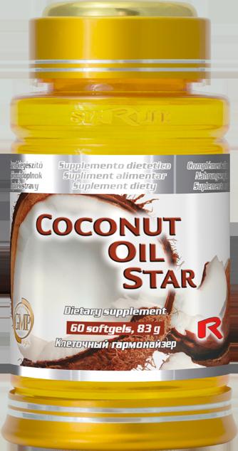 Starlife Coconut Oil Star, 60 sfg