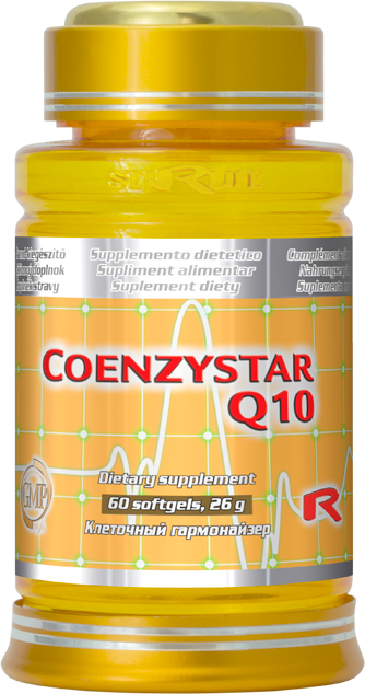 Starlife Coenzystar Q10, 60 sfg