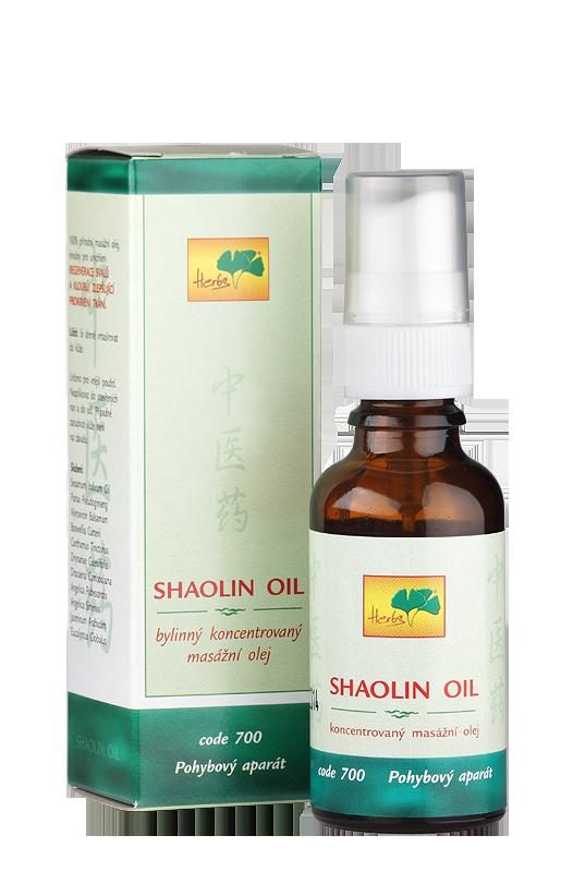 TCM Herbs Šaolinový olej, 25 ml