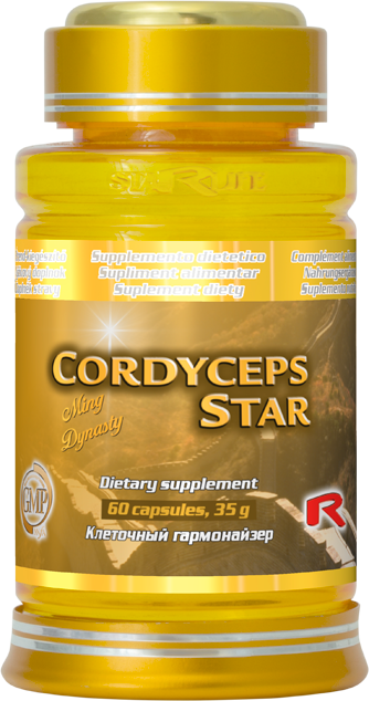 Starlife Cordyceps Star, 60 cps