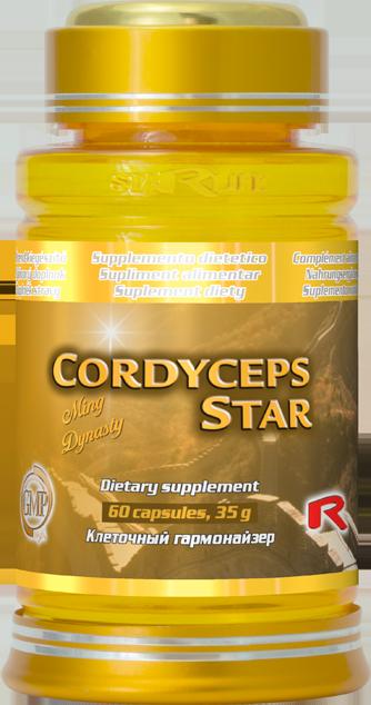 Starlife Cordyceps Star, 60 cps