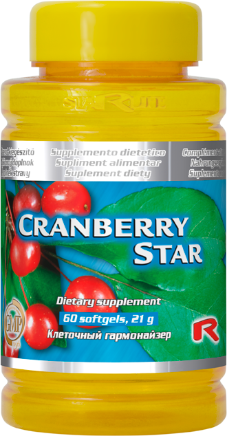 Starlife Cranberry Star, 60 sfg