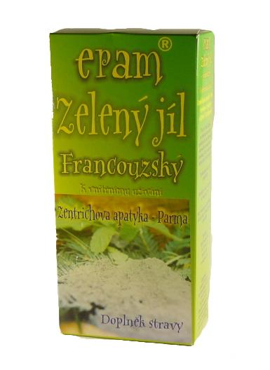 EPAM Zelený jíl EPAM prášek v krabici, 170 g