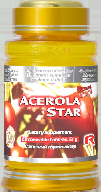 Starlife Acerola Star, 60 tbl
