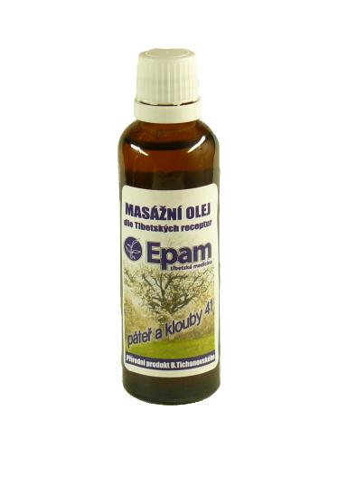 EPAM Masážní olej EPAM 41 Páteř a klouby, 50 ml