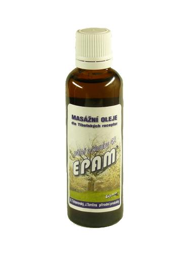 EPAM Masážní olej EPAM 42 Páteř a klouby, 50 ml