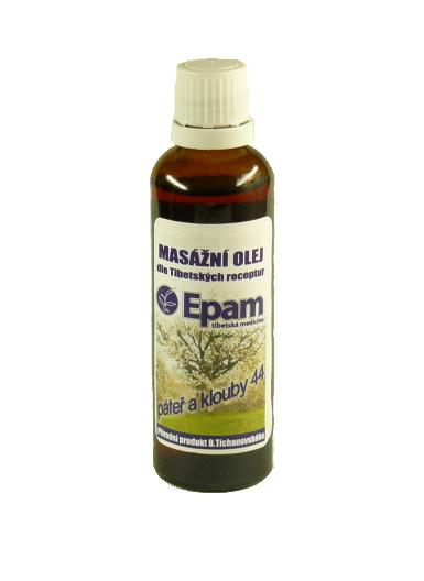 EPAM Masážní olej EPAM 44 Paprika, 50 ml