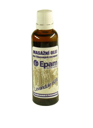 EPAM Masážní olej EPAM 60A Levandule, 50 ml