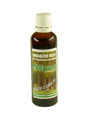 EPAM Masážní olej EPAM 71 směs, 50 ml