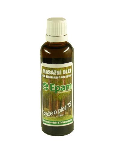 EPAM Masážní olej EPAM 72 směs, 50 ml