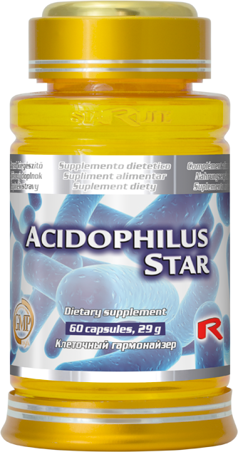 Starlife Acidophilus Star, 60 cps