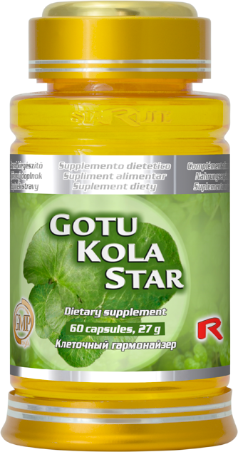 Starlife Gotu Kola Star, 60 cps