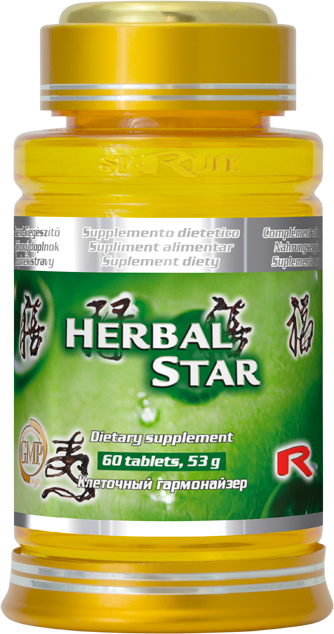 Starlife Herbal Star, 60 tbl