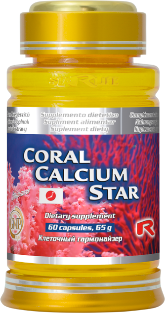 Starlife Coral Calcium Star, 60 cps