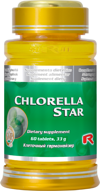 Starlife Chlorella Star, 60 tbl