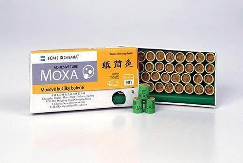 TCM Bohemia Moxové kužílky balené, 42 ks