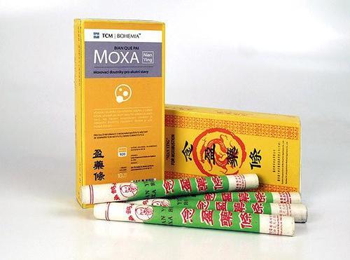 TCM Bohemia Moxovací doutníky pro akutní stavy, 10 ks