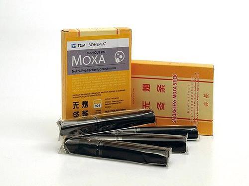 TCM Bohemia Nekouřivá karbonizovaná moxa, 5 ks
