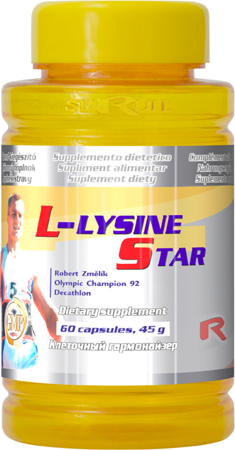 Starlife L-lysine 500, 60 cps