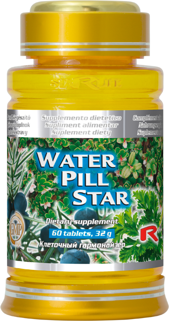Starlife Water Pill Star, 60 tbl